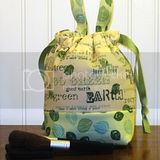 Itty Bitty Brittney Travel Bag - Good Earth Print